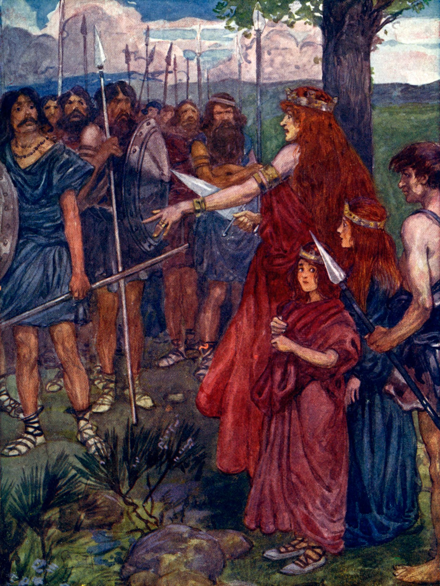 Boudica-Celtic-Roman-dark-history-ancient-Britain-Boudicea-Boudicca